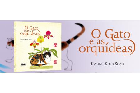 O gato e as orquídeas, de Kwong Kuen Shan